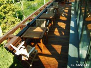 Deska Tarasowa Egzotyczna - Drewniane Meble Ogrodowe