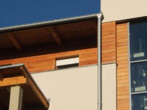 Deska Elewacyjna na budynku zdjęcie z realizacji