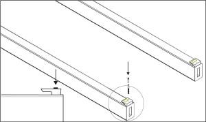 Katalog - montaż do legara - krok 1