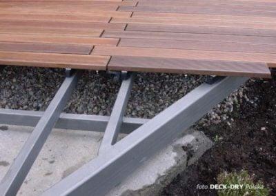 Konstrukcja Tarasu - ruszt stalowy