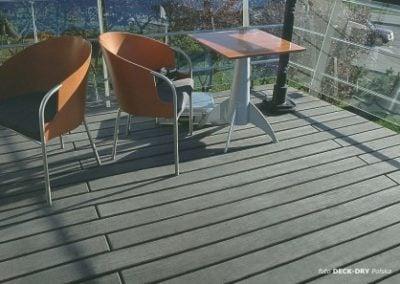 Taras drewniany - deska tarasowa jatoba