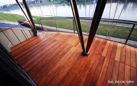 Tarasy drewniane, deska garapa, Warszawa