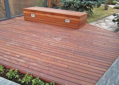 Zabudowa Skrzyni Drewnianej w Ogrodzie Deck-Dry Polska