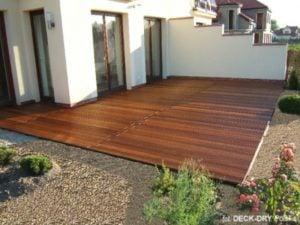 Nowoczesny Taras Drewniany Deck-Dry
