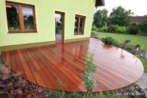 Taras z drewna - Pomysły na podłogę