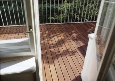 Balkon i deska tarasowa Egzotyczna