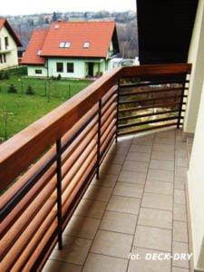 Poręcze i Balustrada na Balkonie