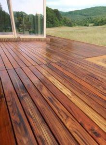 Podłoga na Taras z Drewna