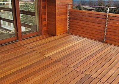 Dobre balustrady na taras drewniane