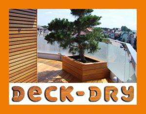Donica Tarasowa Garapa Deck-Dry
