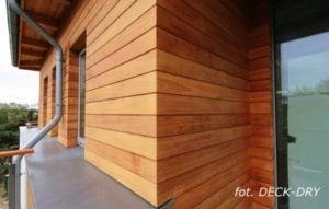 Pomysły i Zdjęcie - narożnik budynku, elewacja drewniana