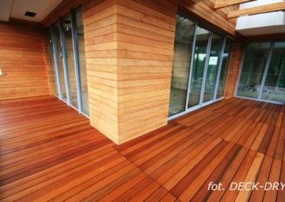 Drewno elewacyjne - narożnik budynku