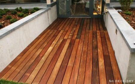 Drewno na Taras - pomysły