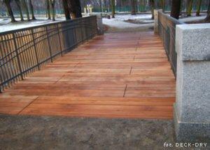 Mostek drewniany