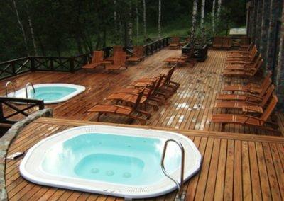 Ładny Taras Hotelowy Montaż Deck-Dry