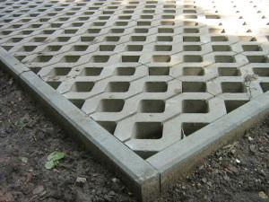 ażurowe płyty betonowe