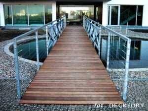Mostek Drewniany Deck Dry