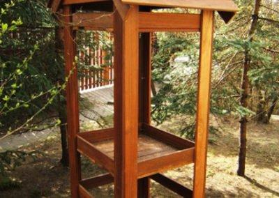 Ogrod i zabudowa drewniana