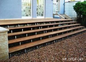 Schody Zewnętrzne z Deski Tarasowej Deck-Dry