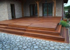 Deska Tarasowa DECK-DRY - schody i taras - rezydencja