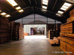 Skład Drewna DECK-DRY zdjęcie bramyu wjazdowej
