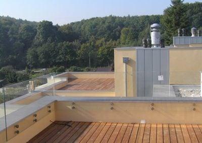 Taras na dachu Warszawa