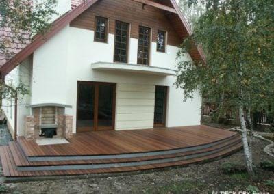 Taras Ogrodowy Drewniany