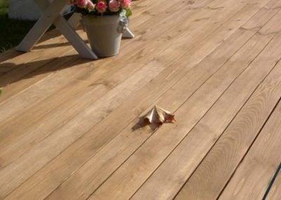 Termo drewno deska na taras