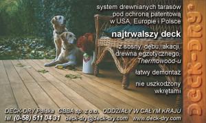 Ulotka Reklamowa Deck-Dry