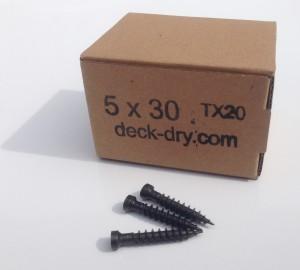 Zestaw wkrętów deck-dry 5x30 torx
