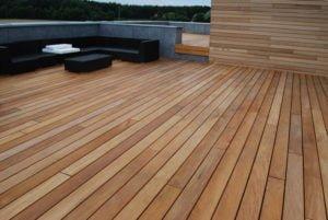 Aranżacja Tarasu drewno elewacyjne