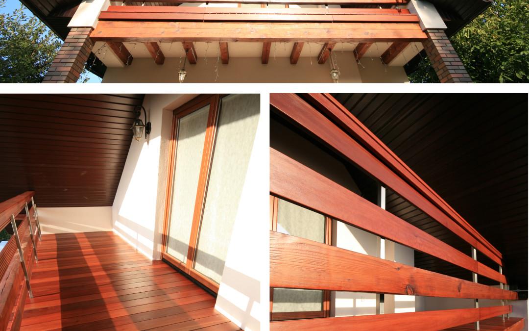 Taras drewniany konstrukcja — deska podłogowa poznan