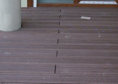 Deska na tarasie - podłoga