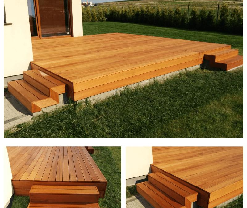 Zabudowy Tarasów Drewno Egzotyczne Punah — śląsk