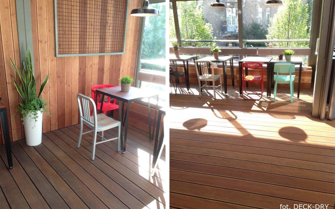 System Tarasowy Deck-Dry — Elewacja drewniana Dolnyśląsk