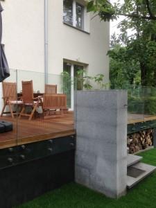 Deska tarasowa i Meble ogrodowe drewniane