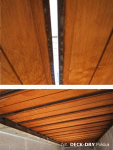 Deski Tarasowe oparte na podkładkach Deck-Dry