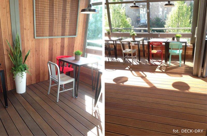 System Tarasowy Deck-Dry - Elewacja drewniana - dolnyśląsk