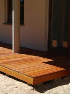 Budowa Tarasów drewnianych zdjęcie realizacji