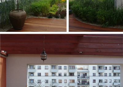 Tarasy egzotyczne - Pomysł na taras Balkon