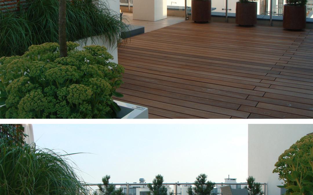 Tarasy na dachach Ładne Apartamenty
