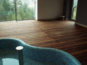 Deska Tarasowa Ipe - Drewniany Taras na Basenie Hotelowym