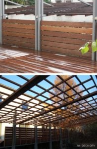 Zdjęcia z realizacji Pergole drewniane i Drewno Elewacyjne
