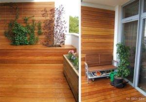 Egzotyczne Drewno Pomysł na Zaciszny Balkon