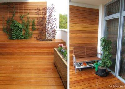 Egzotyczne Drewno Zaciszny Balkon