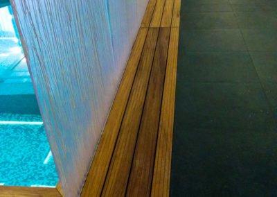 Hotel Obudowa jacuzzi deska iroko Deck-Dry