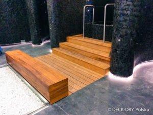 Ładne siedzisko drewniane zdjęcie