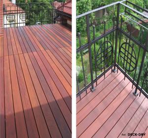 Montaż tarasu drewnianego taras i balkon pomorskie