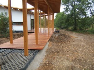 Budowa Tarasu Montaż Tarasu Drewnianego - podbudowa