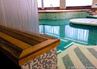 Obudowy drewniane na basenie Spa Hotelowe Deck-Dry